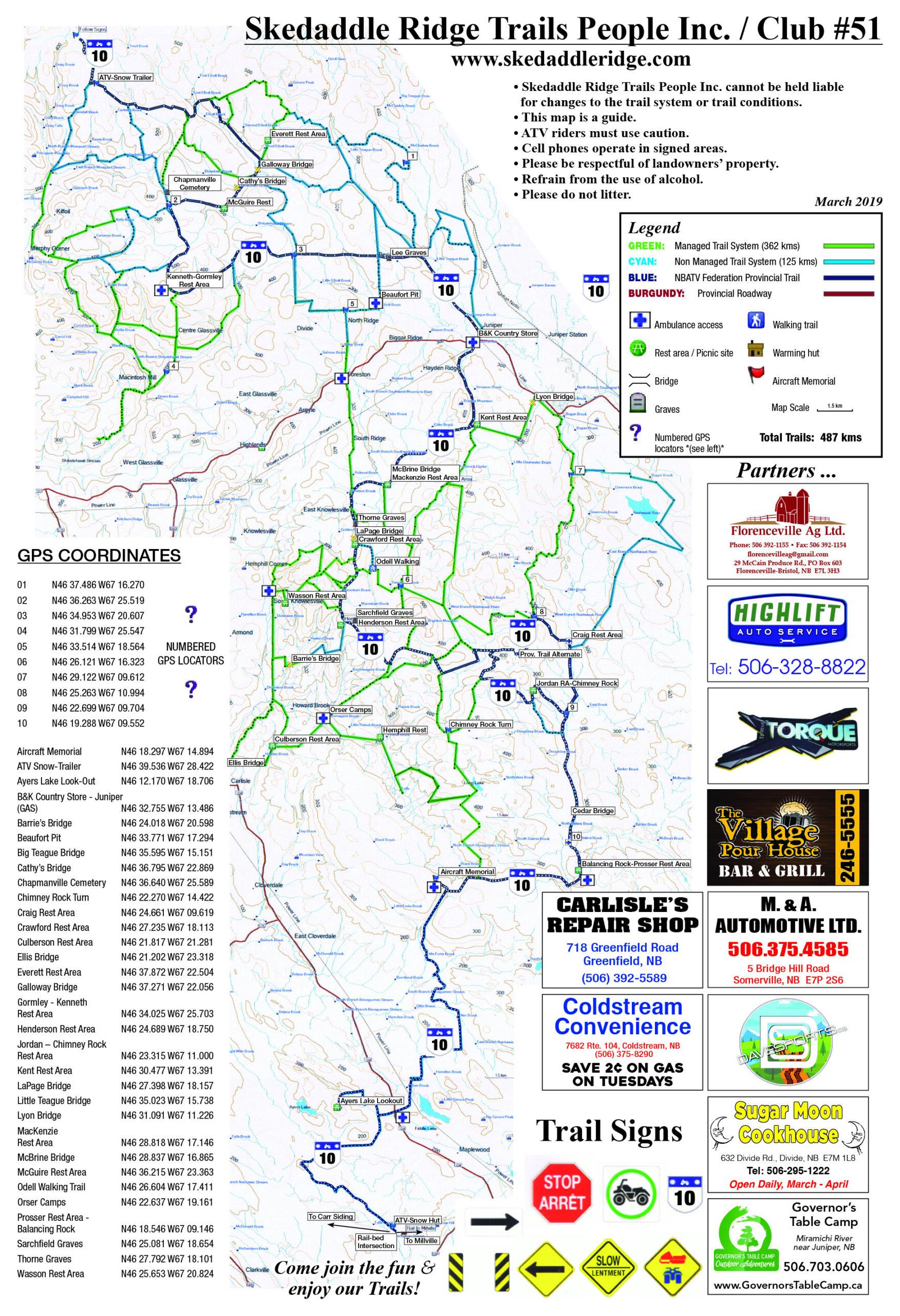 Geocaching/Trail Map